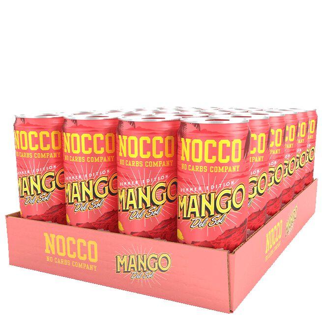 24 x NOCCO BCAA, 330 ml, Mango del Sol, FI